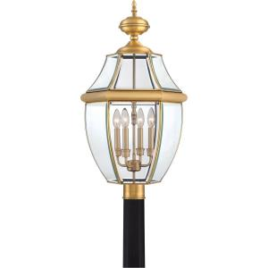 Newbury - 4 Light Extra Large Post Lantern - 30.5 Inches high