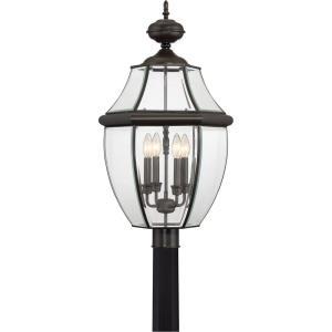 Newbury - 4 Light Extra Large Post Lantern - 29.5 Inches high