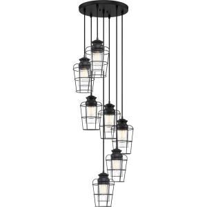 Olson - 18 Inch 7 Light Pendant