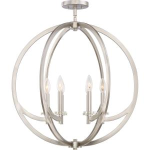 Orion - Six Light Semi-Flush Mount - 28.25 Inches high