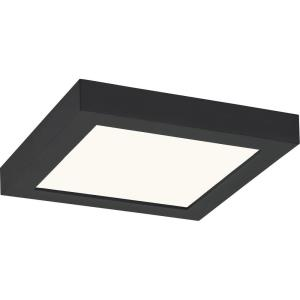 Outskirts - 12W 1 LED Flush Mount in Transitional style - 7.5 Inches wide by 1 Inch high