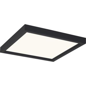Outskirts - 15W 1 LED Flush Mount in Transitional style - 11 Inches wide by 1 Inch high