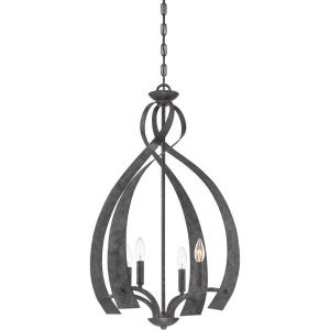Outlook - 4 Light Foyer - 31 Inches high