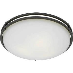 Ozark - 3 Light Flush Mount