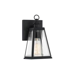 Paxton 9 Inch Outdoor Wall Lantern Transitional Steel