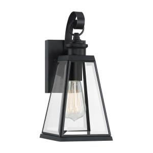Paxton 13.25 Inch Outdoor Wall Lantern Transitional Steel - 13.25 Inches high