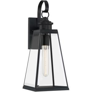 Paxton 17.75 Inch Outdoor Wall Lantern Transitional Steel - 17.75 Inches high