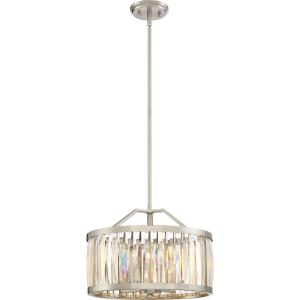Platinum Ballet - 4 Light Large Pendant