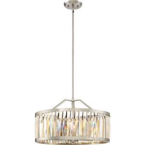 Platinum Ballet - 5 Light Large Pendant