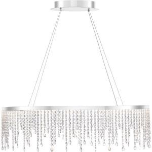 Platinum Collection Borderline - 35.5 Inch 32W 1 LED Pendant