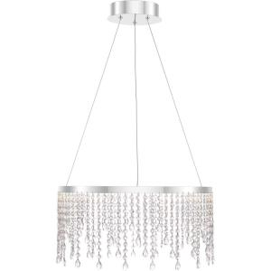 Platinum Collection Borderline - 20 Inch 22W 1 LED Pendant