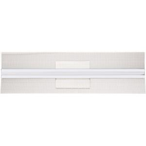 Platinum Collection Bravo 1 Light Contemporary Bath Vanity Approved for Damp Locations