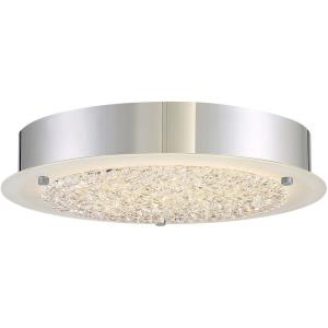 Platinum Blaze - 12.25 Inch 17W 1 LED Small Semi-Flush Mount