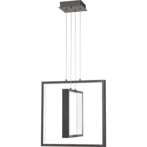 Canvas - 17.75 Inch 34W 1 LED Pendant