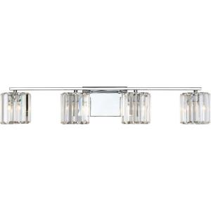 Divine 4 Light Contemporary Bath Vanity - 6 Inches high