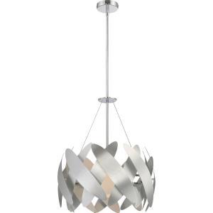 Platinum Encompass - 1 Light Large Pendant