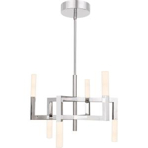 Platinum Collection Elevation - 18.9 Inch 15W 1 LED Chandelier