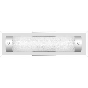 Glitz 1 Light Contemporary Bath Vanity Approved for Damp Locations - 4.75 Inches high