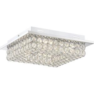 Platinum Infinity - 12.50 Inch 16W 1 LED Medium Semi-Flush Mount