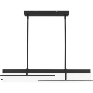 Lander - 51W 1 LED Linear Chandelier in Transitional style - 43.75 Inches wide by 7.25 Inches high