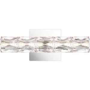 Luster 1 Light Contemporary Bath Vanity Approved for Damp Locations - 5.5 Inches high