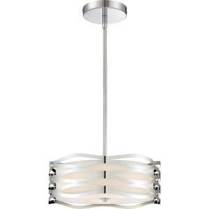 Platinum Mystic - 3 Light Large Pendant