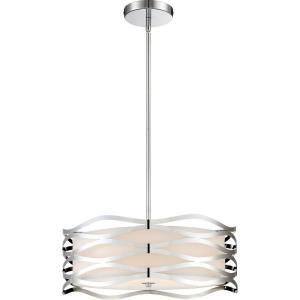 Platinum Mystic - 4 Light Large Pendant