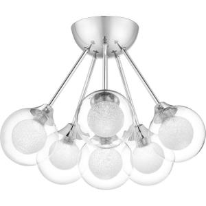 Spellbound - 6 Light Semi-Flush Mount