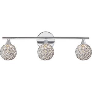 Platinum Shimmer - Three Light Bath Vanity