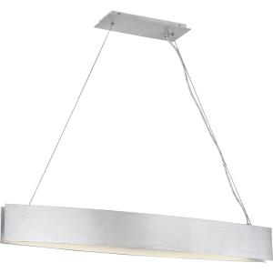 Platinum Collection Silver Edge - 42 Inch 69W 1 LED Island