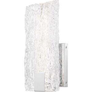 "Platinum Collection Winter - 12"" 16W 1 LED Wall Sconce"