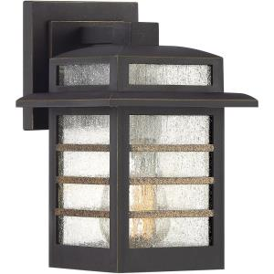 Plaza 9.25 Inch Outdoor Wall Lantern Transitional Coastal Armour Approved for Wet Locations