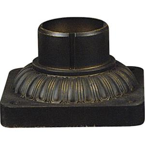 Outdoor Pier Mount - 3.5 Inches high