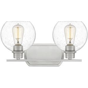 Pruitt 2 Light Transitional Bath Vanity - 8.5 Inches high