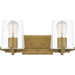 Perry - 2 Light Bath Vanity - 7.5 Inches high