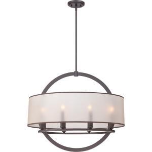 Portland - 8 Light Pendant - 24 Inches high