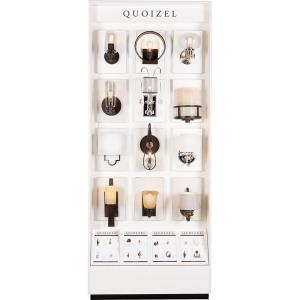 Quoizel - 96 Inch 1 Side Wall Sconce Display