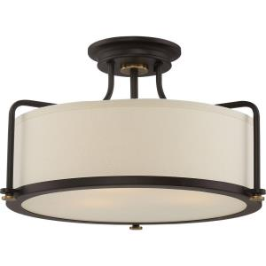 Calvary - 3 Light Large Semi-Flush Mount