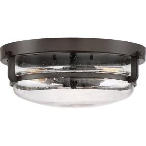 Quoizel - 5.5 Inch 3 Light Flush Mount