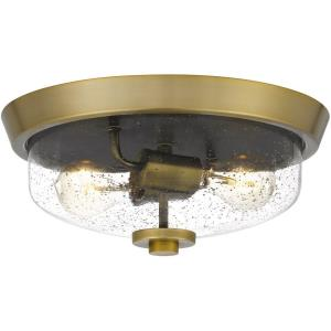 Radius - Two Light Flush Mount