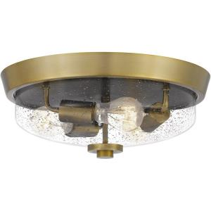 Radius - Three Light Flush Mount