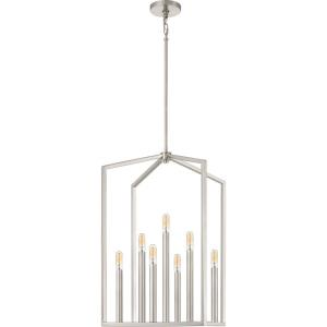 Foundation - 7 Light Pendant - 27.5 Inches high