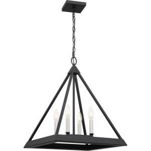 Draper - 4 Light Pendant - 22 Inches high