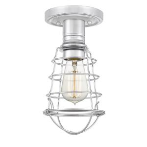 Mixon - 1 Light Semi-Flush Mount