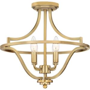 Harvel - 4 Light Semi-Flush Mount