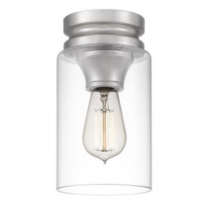 Bethany - 9.25 Inch 1 Light Semi-Flush Mount