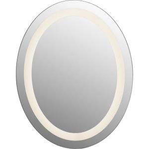 Intensity - 21W 1 LED Oval Mirror - 22 Inches high