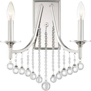 Queenship - 2 Light Wall Sconce