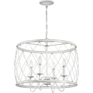 "Dury - 23"" Four Light Pendant"