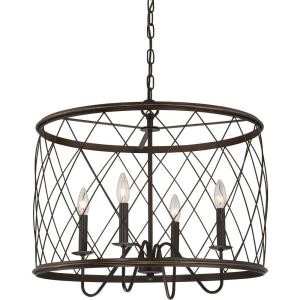 Dury - 20 Inch 4 Light Pendant